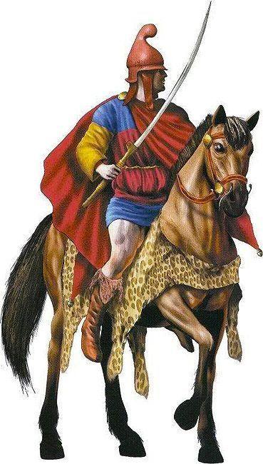 Thracian cavalryman from the Odrysian tribe.