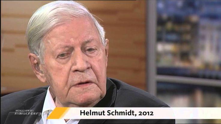 """""""Helmut Schmidt bei Sandra Maischberger"""""""