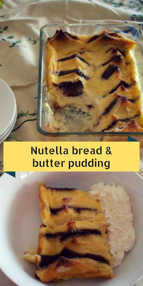 Nutella bread & butter pudding.png