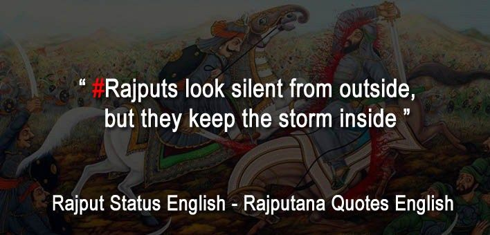 royal rajput status | Rajput status | Status quotes