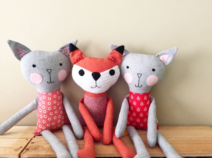 Boyeshka creates gorgeous handmade toys for children. Made from quality materials, they are triple stitched to suit active play