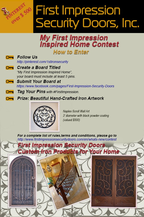 First Impression Security Doors #Contest