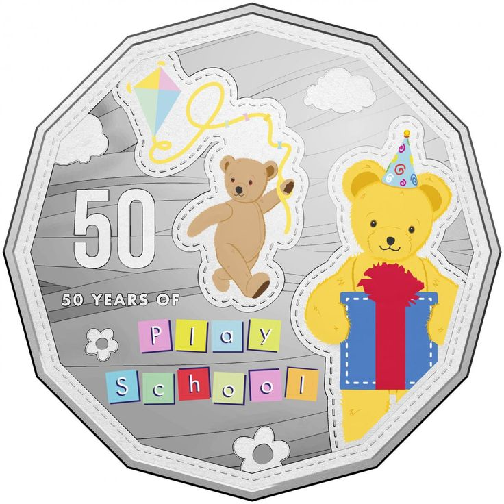 The Royal Australian Mint in Canberra has marked the 50th anniversary of the TV show Play School with specially designed 50 cent coins for collectors.  The coloured coins feature Play School favourites Jemima, Humpty Dumpty and Big and Little Ted.  Play School's actual anniversary might not be until July but that did not stop hundreds of young and the young at heart turning out to the Mint to sing Happy Birthday.