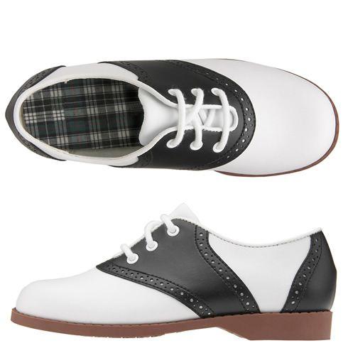 black and white keds saddle oxfords