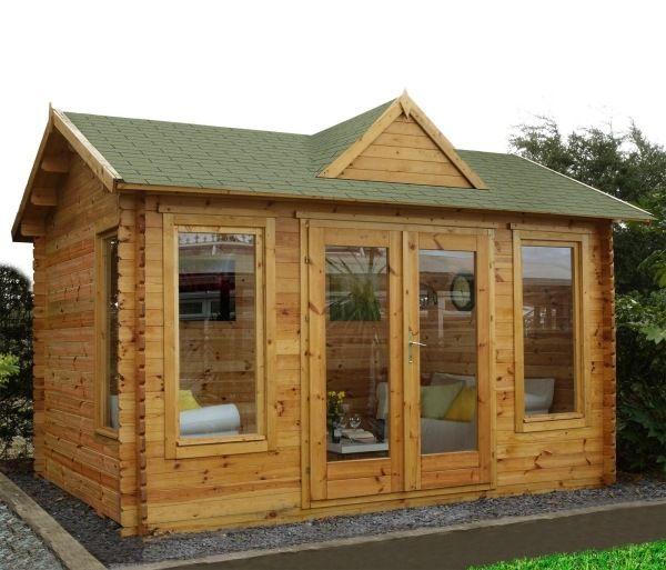 Haus Planen Was Beachten: Gartenhaus Fenster Isolieren Einrichten Dämmen