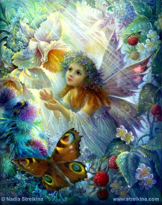 Nadezhda Strelkina Gallery -- Flower fairy