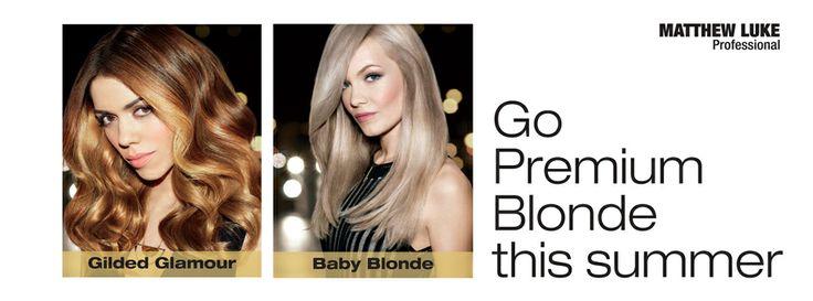 GO Blonde this summer from £20 at Matthew Luke Hair! Bedfordhshire- Hertfordshire - Cambridgeshire