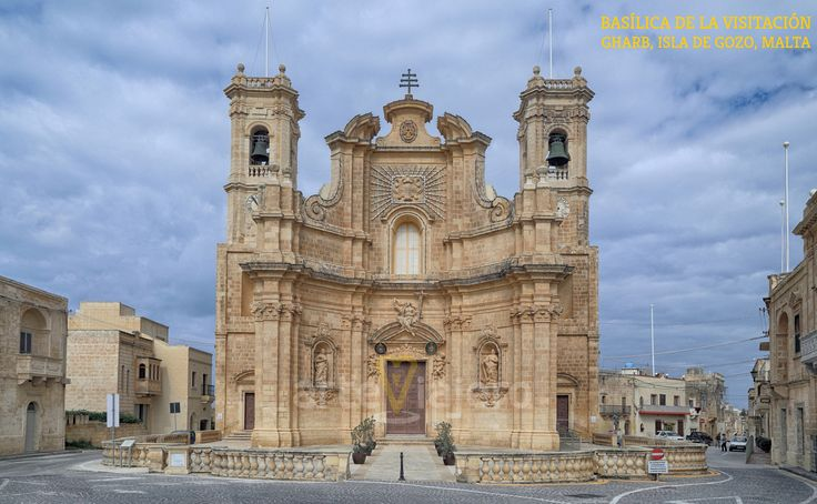 Iglesia de la Visitación, Gharb (Isla de #Gozo #Malta) http://arteviajero.com/