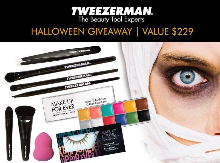 Win Tweezerman Halloween Makeup