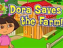 Joaca si tu acest joc cu ferme , un joc cu animale, unde va trebui sa o ajuti pe Dora sa aiba grija de animalute. Pentru inceput click pe ha...