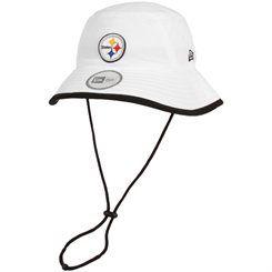 78c4c00b533 New Era Pittsburgh Steelers Training Bucket Hat - White