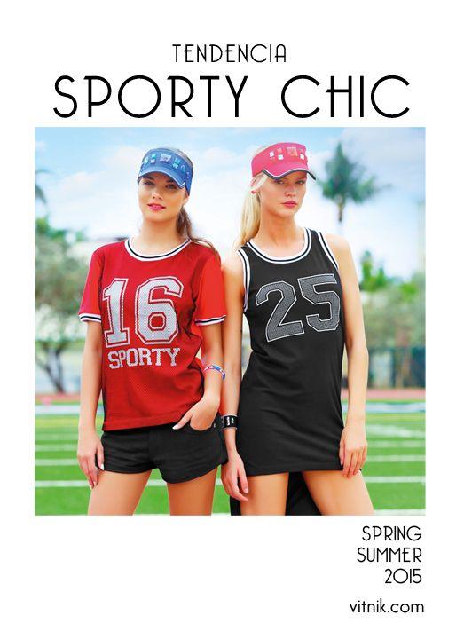 Sporty chic: la idea es llevar este tipo de prendas deportivas con un look más urbano y arreglado.
