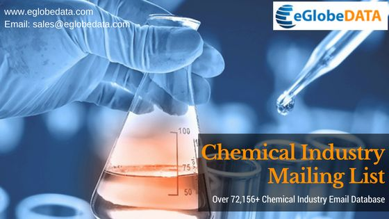 eGlobeData tailored Chemical Industry Mailing List helps you get easily connected with the key decision makers of Healthcare Industry globally.