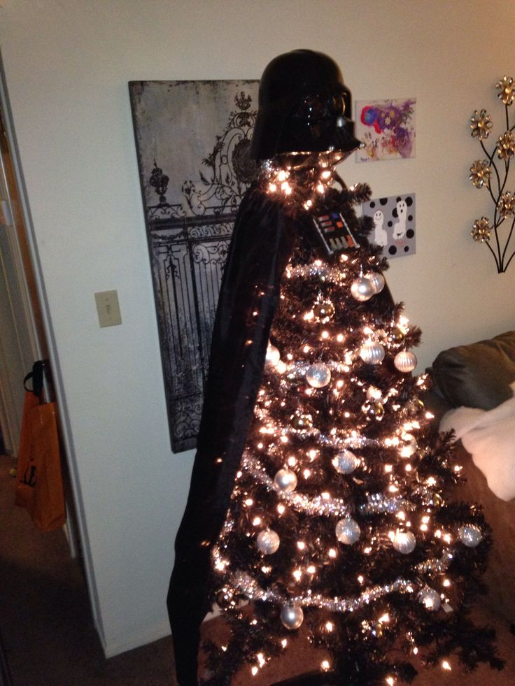 Darth Vader Christmas Tree | Star warsss | Pinterest ...