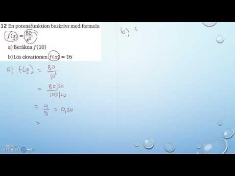 Matematik 5000 Ma 2a   Kapitel 2   Algebra och icke linjära modeller   D...