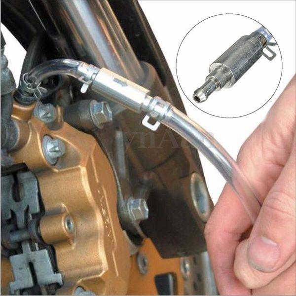 Motorcycle Car Brake Bleeder Clutch Bleeding Tool Kit One Way