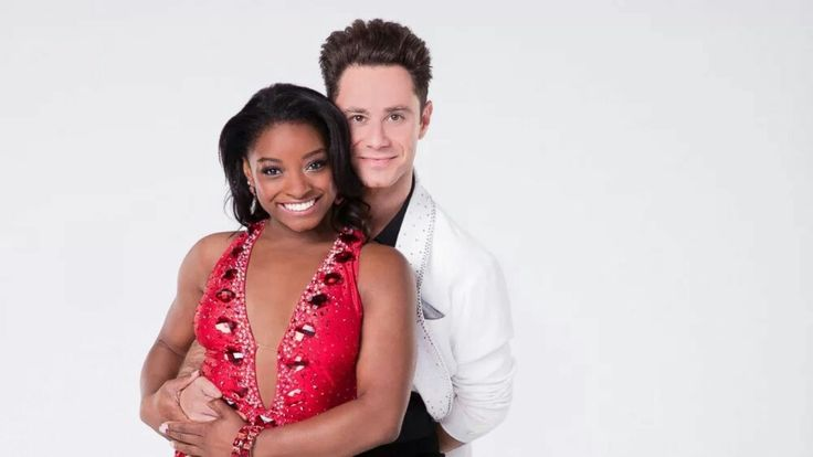 "Simone Biles will compete with pro Sasha Farber on the new season of ""Dancing With the Stars."""