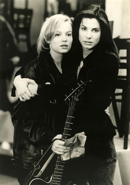 "Samantha Mathis, Sandra Bullock in ""The Thing Called Love"" (1993) Director: Peter Bogdanovich."