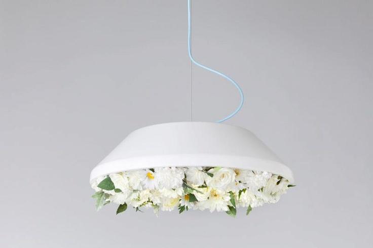 цветочная лампа от Monochro, Япония