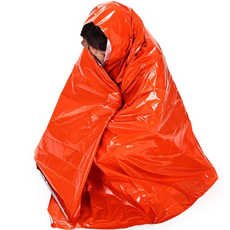 210*130 cm Addensare Il Riscaldamento Coperta Arrampicata Outdoor Kit Di Sopravvivenza Di Emergenza Attrezzature di Soccorso Di Emergenza Di Sopravvivenza di Caccia Nuovo