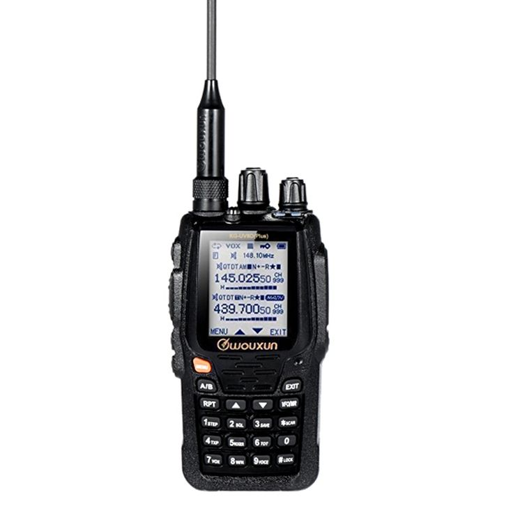 Only £93.72, uk WOUXUN KG-UV8D Plus Interphone Walkie Talkie UV Dual-band - Tomtop.com