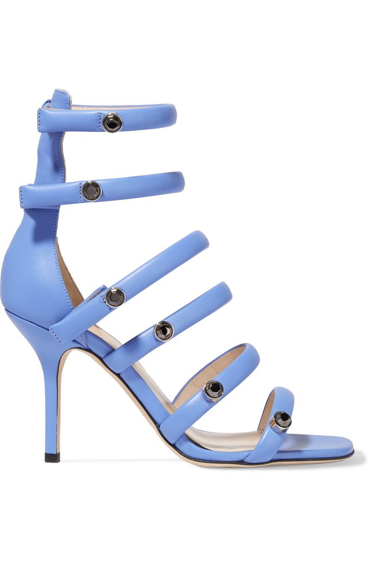 Embellished leather sandals | Christopher Kane | BE | THE OUTNET