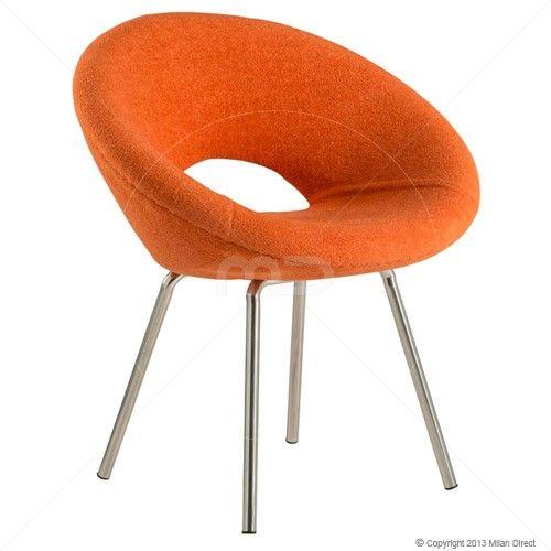 Ring Chair - Eero Saarinen Replica - Orange