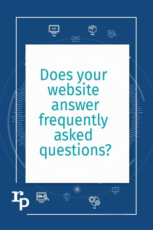 Faq S Does Your Website Answer Frequently Asked Questions In 2020 This Or That Questions Small Business Web Design Answers