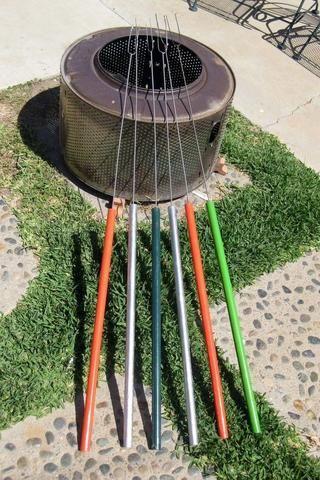metal marshmallow roasting sticks