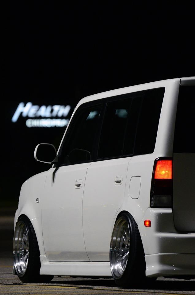 Scion xB...this thing is LOW!