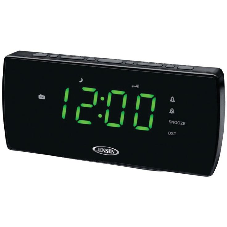 Jensen Am And Fm Dual Alarm Clock Radio – USMART NY