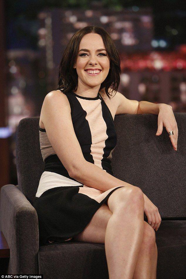 Jena Malone on Jimmy Kimmel Live (I)