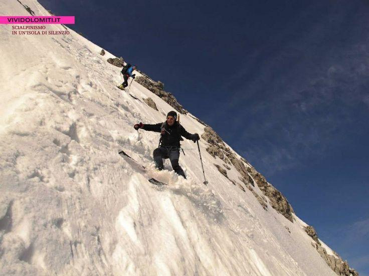 #Scialpinismo #Dolomiti D' #Oltrepiave