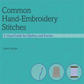 Common hand-embroidery stitches