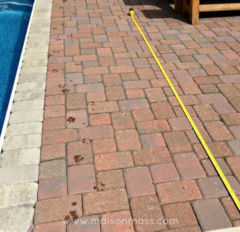 We tackled a project last summer that I was loathe to do, but after years of praying to the Yard Crasher gods to no avail, we plunged into the pool patio projec…
