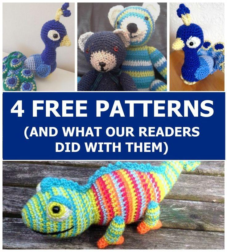 Enchanting Knitted Amigurumi Free Patterns Motif - Blanket Knitting ...