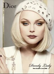 Google Image Result for http://www.bridalwave.tv/1408_autumn_beauty_dior_main.jpg: Hats, Classic Bob, Fashion, Dior Beauty, Glamour Makeup, Blonde Classic, Face Eyes Lips Makeup, 1408 Autumn Beauty Dior Main, Beautiful Faces