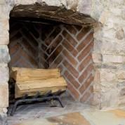 After years of searing-hot blazes, fireplace mortar can crack, crumble, and fall out. Gaping mortar joints are not only unattractive, they leave the bricks more vulnerable to damage. So before wood-burning season starts, examine the condition of the mortar in the firebox and take an hour or two to replace any that has deteriorated. See How to Get Your Firebrick in Shape for all the tools and steps you need.
