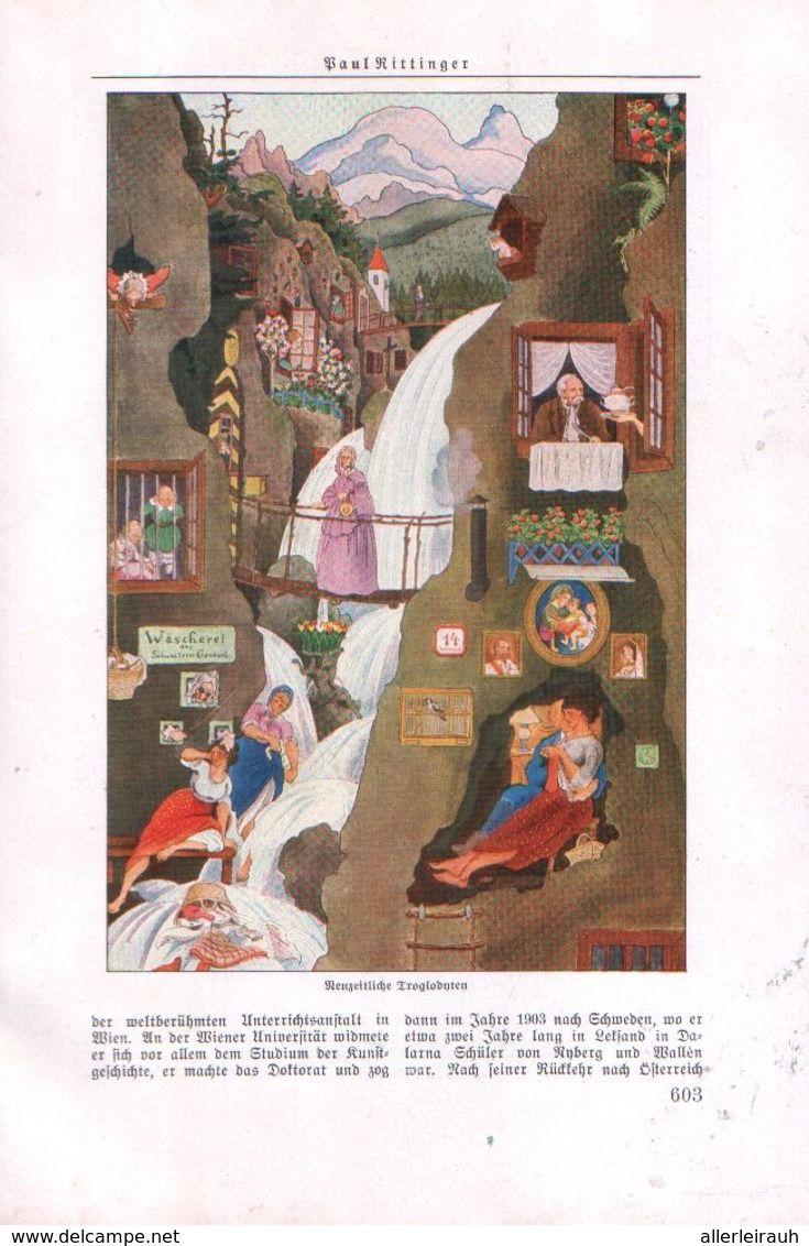 Paul Rittinger Von Alfred Strobel Artikel Entnommen Aus Zeitschrift 1931 Zu Verkaufen Auf Delcampe Zeitschriften Comic Mystik