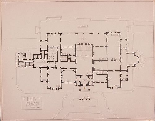 Palazzo Main Floor Plan Flickr Photo Sharing