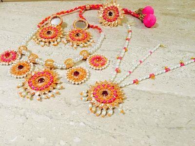 Gota jewellery for mehendi
