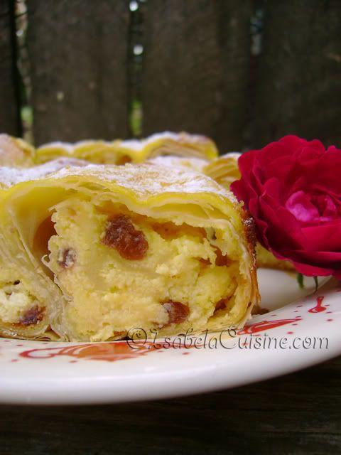 Placinta cu branza dulce | Isabela Cuisine