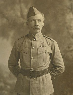 Lieutenant-Colonel William D. Otter, Commanding Officer of the 2nd (Special Service) Battalion, Royal Canadian Regiment of Infantry in South Africa, November 1899 - November 1900.