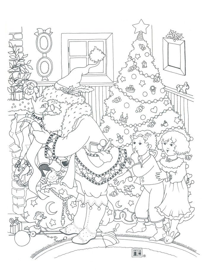 - Mary Engelbreit's Color ME Christmas Coloring Book Christmas Coloring  Books, Coloring Books, Doll Drawing