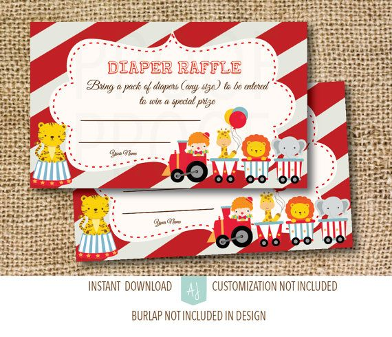 Carnival Baby Shower Games Circus Theme Baby by AestheticJourneys
