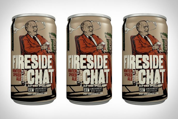Fireside Chat Winter Spiced Ale from 21st Amendment Brewery