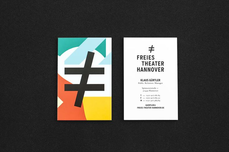 08-Freies Theater Hannover Corporate Design