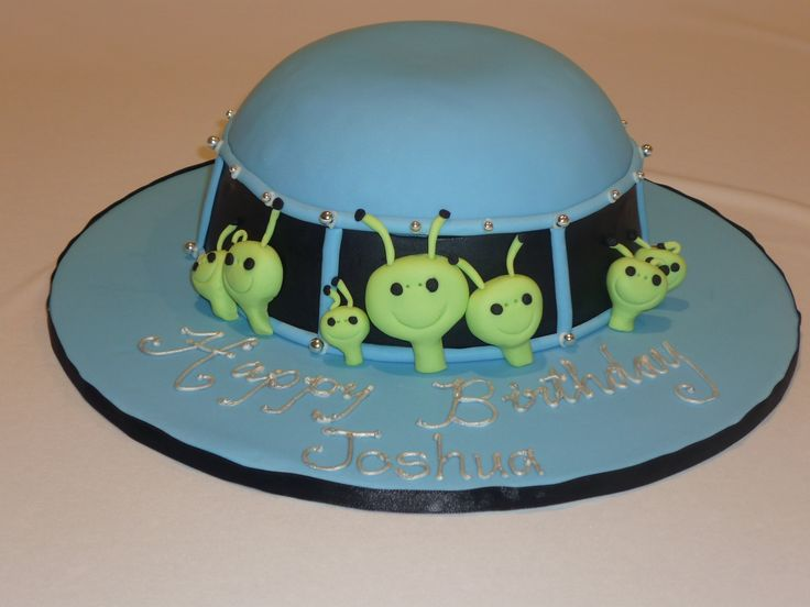 55 Best Alien Birthday Cakes Images On Pinterest Aliens