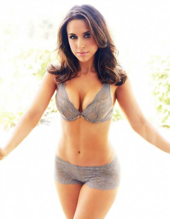Lacey Chabert poses for Maxim magazine photoshoot in 2014...