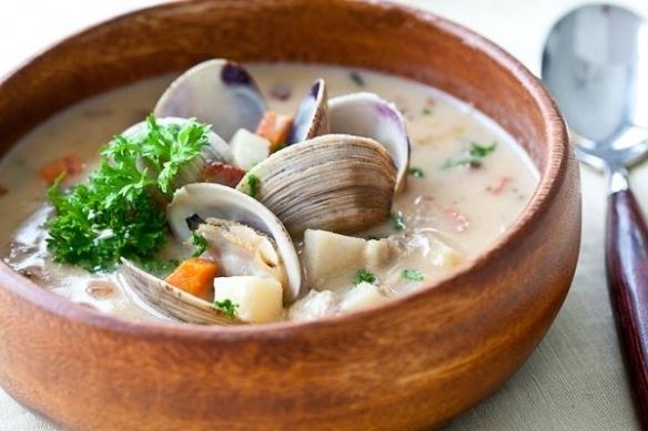 Чаудер — классический морской суп | Kurkuma project (Проект Куркума)